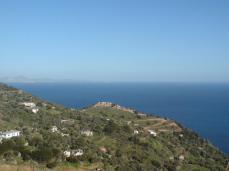 Πανοραμική θέα του χωριού Πλαγιά.