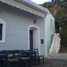 Παραδοσιακό καφενείο στην Πλαγιά Ικαρίας.