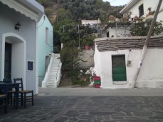 Πλατεία χωριού Πλαγιά Ικαρίας.