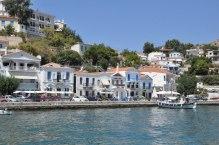 Ο Εύδηλος, ένα από τα λιμάνια του νησιού.
