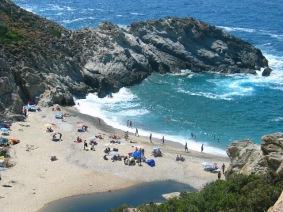 Η παραλία του Να.